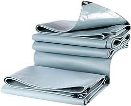 Dekzeilen 0,5 mm dik PVC-zeil vlamvertragende tarps camping waterdichte tentafdekking Sunscreen Ground Sheet zacht antivri...