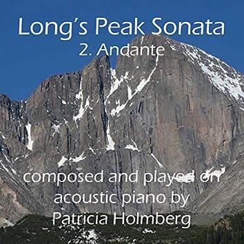 Long's Peak Sonata - Andante (2nd Movement)
