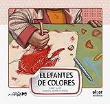 Elefantes de colores -mayuscula-: 6 (Letra grande)