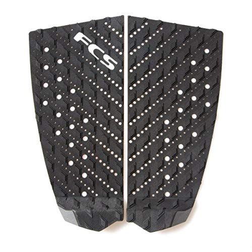 FCS Surf T-2 Traction Pad, Black/Charcoal