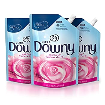 Downy Ultra Liquid Laundry Fabric Softener April Fresh Scent 168 Total Loads  Pack of 3
