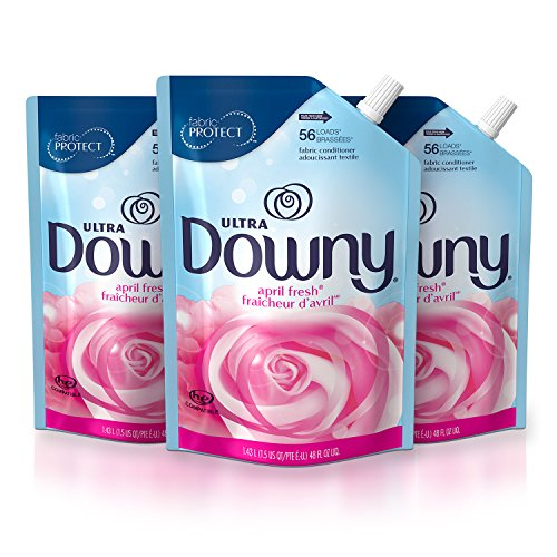 Downy Ultra Liquid Fabric Conditioner (Fabric Softener), April Fresh,...