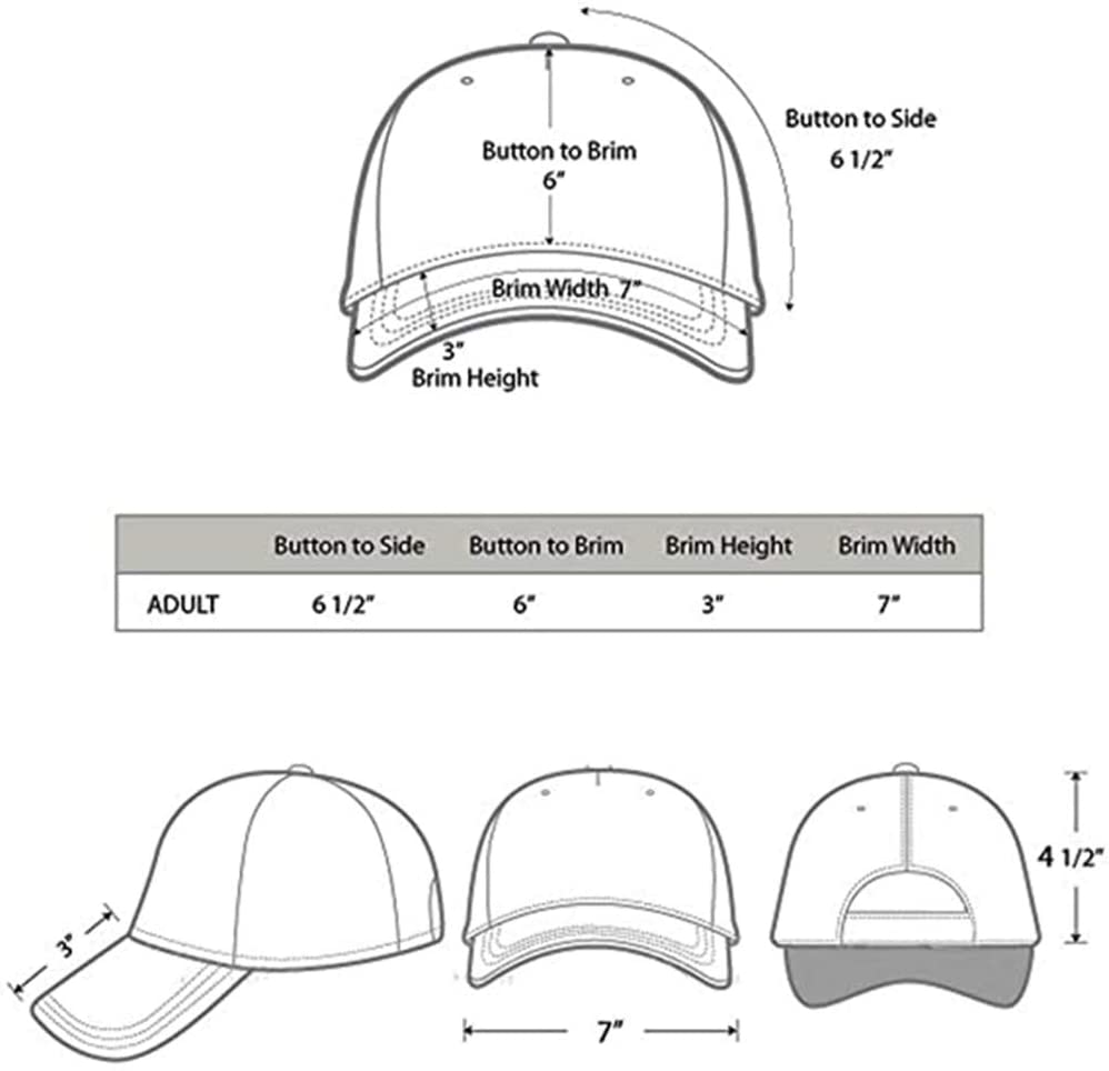 Yoursport Baseball Caps for Men and Women Hat Fit Land Rover Accessories (Red)
