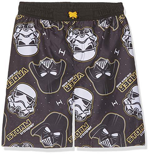 Star Wars Jungen 5544 Boxershorts, Schwarz (Noir Noir), 8 Jahre