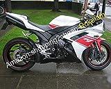 Carenado ABS para Yamaha YZFR1 2007 2008 YZF R1 YZF1000 07 08 Blanco Rojo Negro Carenado Carenado (Moldeo por inyección)