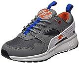Heelys Men's Force Sneakers Roller Shoes Grey (Grey White Orange) 10 US