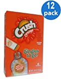 12 Boxes of Orange CRUSH 6 Packets in Each. Soft Drink Mix Only 5 Calories. Sugar Free Caffeine Free.