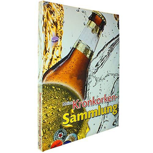SAFE 7931 Kronkorken-Album | Sammelalbum für 100 gebrauchte Kronkorken | Geschenke zum Jahrestag für ihn | Ideale Männergeschenke zum Geburtstag | Format 300 x 380 x 6 mm