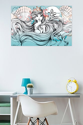 "Trends International Ariel-Land Or Sea Premium Wall Poster, 22.375"" x 34"""