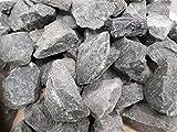 Saunasteine Premium vorgewaschen -DIABAS- für alle Saunaöfen hitzebeständig Körnung 50-80 mm (5kg) 3,99/kg