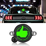 Car Thank You Light Car Thumbs Up Light Light-up Symbol to Say Thank You on the Road, Automotive Rear Window Light Sign Thank You Logo for Auto Cars Trucks Vans, Romote Control Thumbs Up Car Light