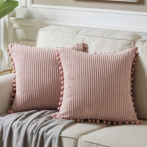 almohada rosa fabricante Fancy Homi