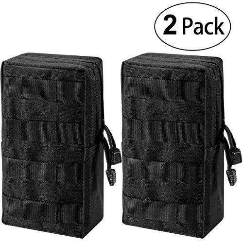 Zeato MOLLE-Beutel, Tasche - kompakt, wasserabweisend, Mehrzweck-Tasche, mit Halteschlaufe