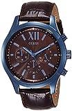 Guess Reloj analogico para Hombre de Cuarzo con Correa en Piel W0789G2
