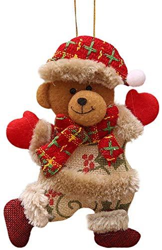 Mariisay Weihnachten Deko Nähen Weihnachtsmann Hirsch Casual Chic Rentier Elch Snowman Christbaumkugeln Geschenke Christbaum Anhänger Klein Christmas Garten Täglich Gebrauch Produkt