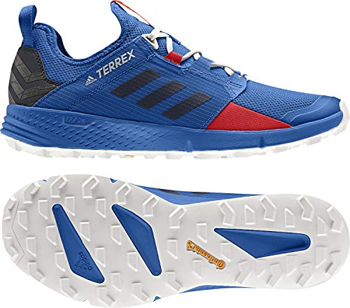adidas outdoor Terrex Speed Ld Mens Trail Running Shoes, Blue Beauty/Legend Ink/Active Red, 9.5