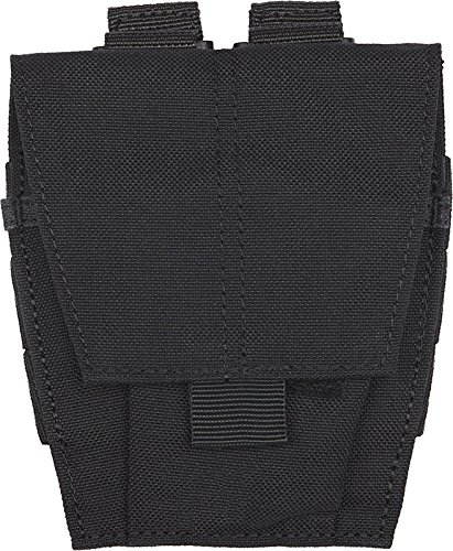 5.11 Tactical Hand-Cuff Carrying Case Pouch for Belts, Bags, and Packs, MOLLE, Black, One Size, Style 58721