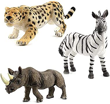 Demarkt 1 Pcs Simulation Jouet modèle Animal Sauvage pour Enfant Enfant Jouet de L'éducation pour Bébé Kid (1-12 Ans)