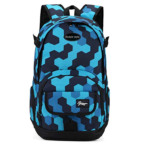 School Backpack, Travel Bag for Men & Women, Lightweight College Back Pack with Laptop Compartment
