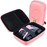 Leayjeen Binoculars Case Compatible with Let's GO/Dreamingbox Compact Shock Proof Binoculars for Kids (Case Only) (Pink)