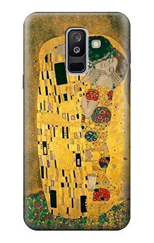 Innovedesire Gustav Klimt The Kiss Funda Carcasa Case para Samsung Galaxy A6+ (2018), J8 Plus 2018, A6 Plus 2018