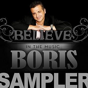 Believe In The Music SAMPLER