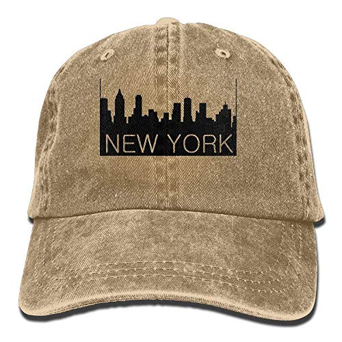 Hombre Mujer Gorras de béisbol, New York City Denim...