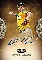 2019 Topps Tier One #PPA-MC Matt Chapman Certified Autograph Baseball Card - Only 299 made!