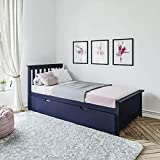 Max & Lily Solid Wood Twin over Full Bunk Bed with Trundle...