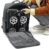 MOOUK Kinderwagen Transportasche, für Buggys, Wasserdicht, Kindersitz Tasche Kinderwagen Autositz...