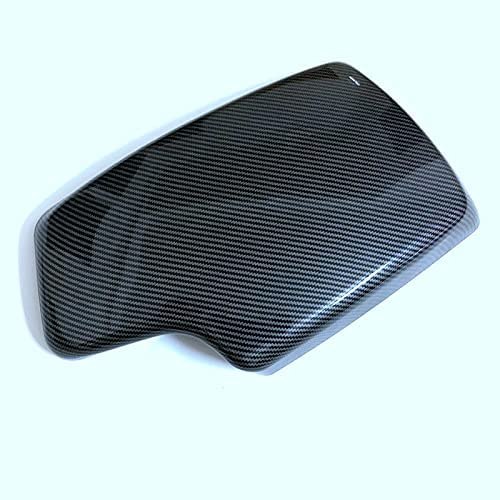 shanmu Carbon Fiber Center Console Max 73% OFF Box armrest Panel Ranking TOP14 Cover Carbo
