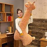Peluche Peluche de Alpaca, muñeco de Peluche, Juguete Suave de Llama, Juguetes de Alpacasso, Animales de Peluche, Almohada para Dormir, cojín para niños
