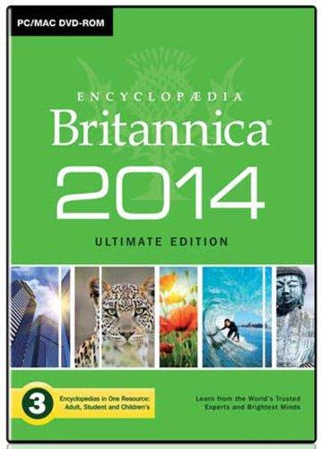 Encyclopaedia Britannica 2014 Ultimate Edition [import anglais]