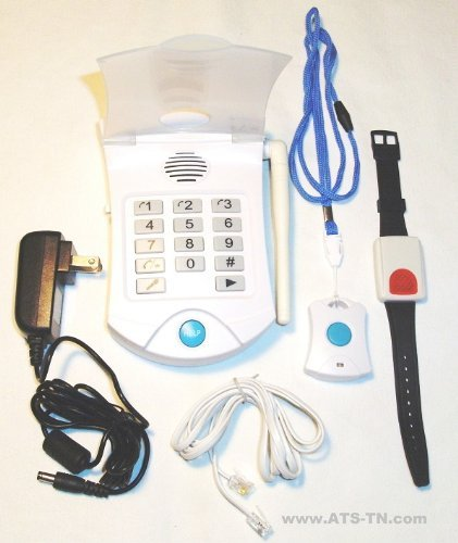 Senior HELP Dialer Medical Alert - No Monthly Fees Medical Alert System- HD700