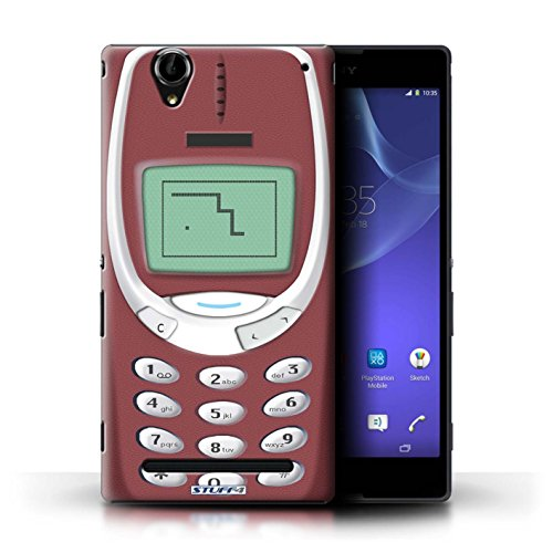 Stuff4 Var voor GG-CC Chocolade Sony Xperia T2 Ultra Rood Nokia 3310