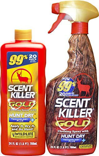 Scent Killer 1259 Wildlife Research Gold 24 24 Combo, 48 oz.