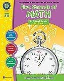 Five Strands of Math - Drills Bundle Gr. 3-5 (Principles & Standards of Math) - Classroom Complete Press