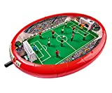 Noris 606178712 Fußball Arena, Der Tischfußball Spaß für die ganze Familie, mit Toranzeige, Gesamtgröße 55 x 41 x 8 cm, ab 4 Jahren