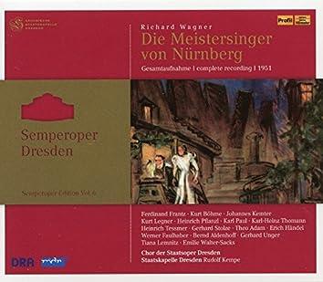 Wagner: Die Meistersinger von Nürnberg, WWV 96 (Semperoper Edition, Vol. 6)
