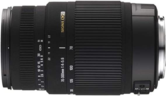 Sigma 70 300 Mm F4 0 5 6 Dg Os Objektiv Für Sigma Kamera