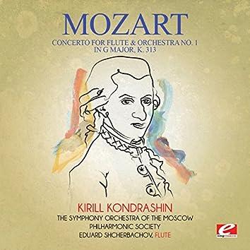 Mozart: Concerto for Flute & Orchestra No. 1 in G Major, K. 313 (Digitally Remastered)
