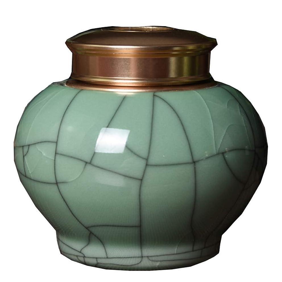 ラリーベルモント風刺十代人の灰のための大人の火葬骨壷 - 手作りされた大人の葬儀の骨壷 - 人間の灰のための大きい埋葬の骨壷 (Color : B)
