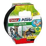 TESA 56431-00000-00 - Cinta de tela extra fuerte Eco Reparación 10mx38mm CC Negro