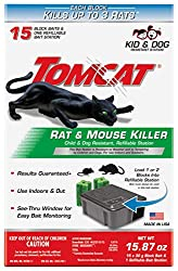 Tomcat Rat & Mouse Killer Refillable Bait Station: photo