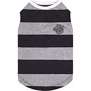 Puppy Face Dog Shirts Tank Top with Wide Strips Doggie Costumes T-Shirt Pet Clothes Vest Apparel for Small Extra Small Medium Large Extra Large Dog or Cat