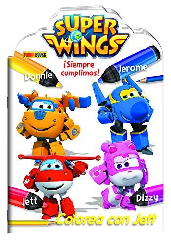 Super Wings. ¡Siempre Cumplimos! Colorea Con Jett