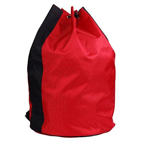 Alomejor Bolsa de Taekwondo Kit Bolsa de Deportes de Entrenamiento de Artes Marciales Mixtas(Red)