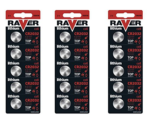 3x Blister 5x Taste Raver Alcaline Batterie CR20323V Lithium