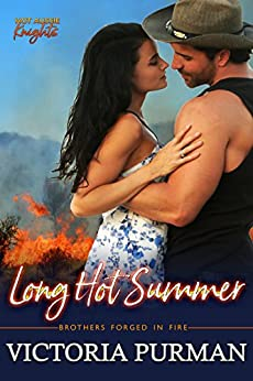 Long Hot Summer (Hot Aussie Knights Book 3) by [Victoria Purman]