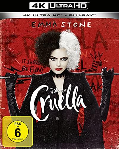 Cruella 4K UHD [Blu-ray]